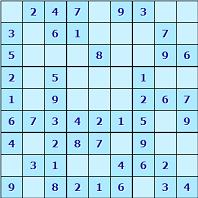 The classic international sudoku game.